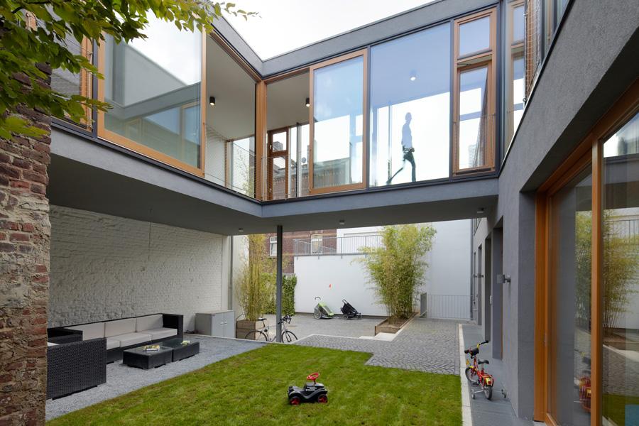 Zentralbau Lofthofhaus Eins